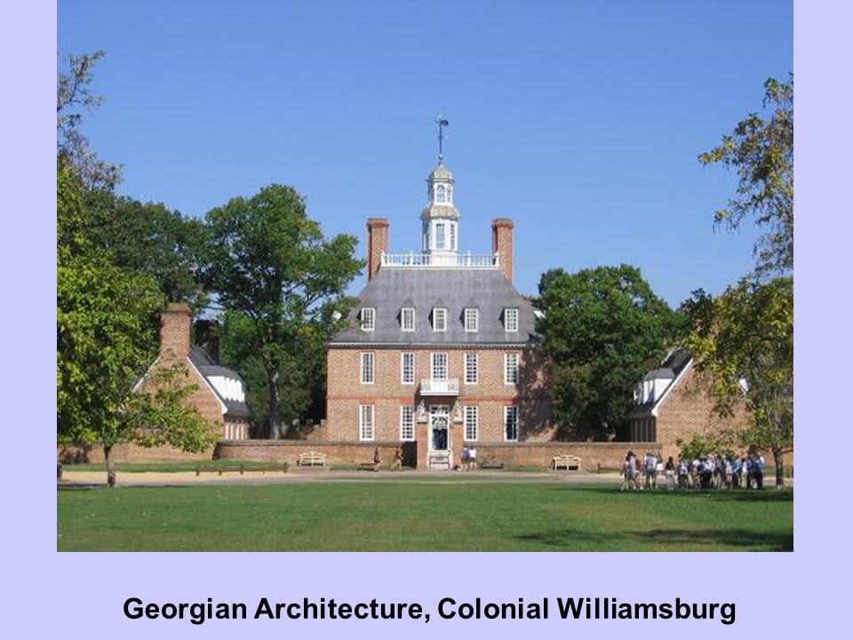 Georgian Architecture, Colonial Williamsburg