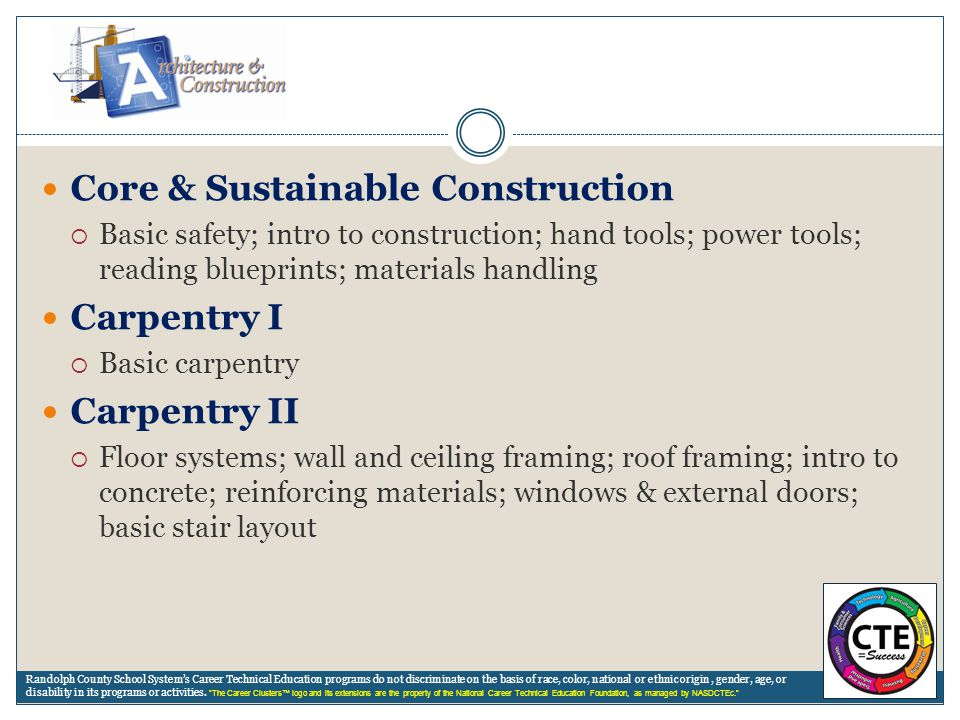 Core & Sustainable Construction