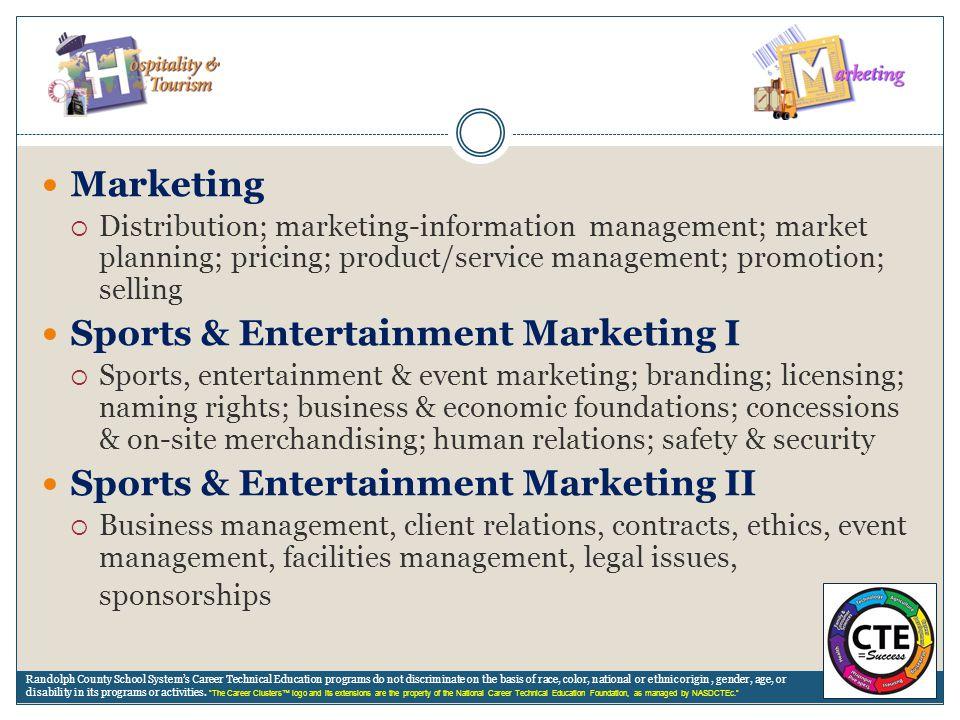 Sports & Entertainment Marketing I
