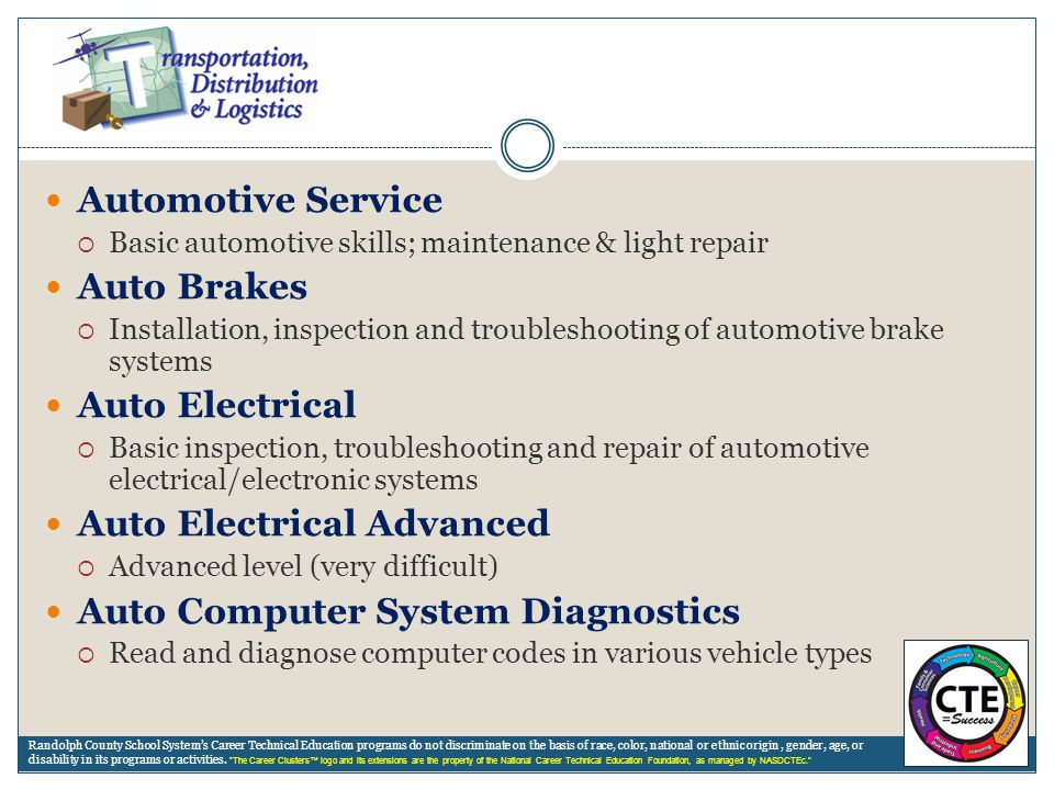 Auto Electrical Advanced Auto Computer System Diagnostics
