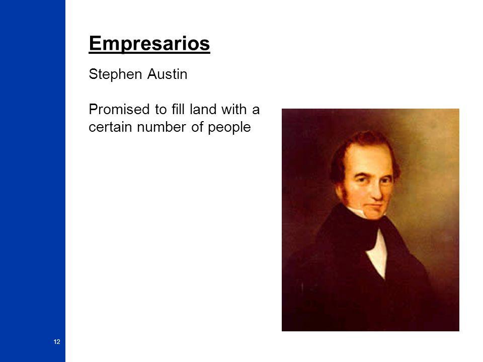 Empresarios Stephen Austin