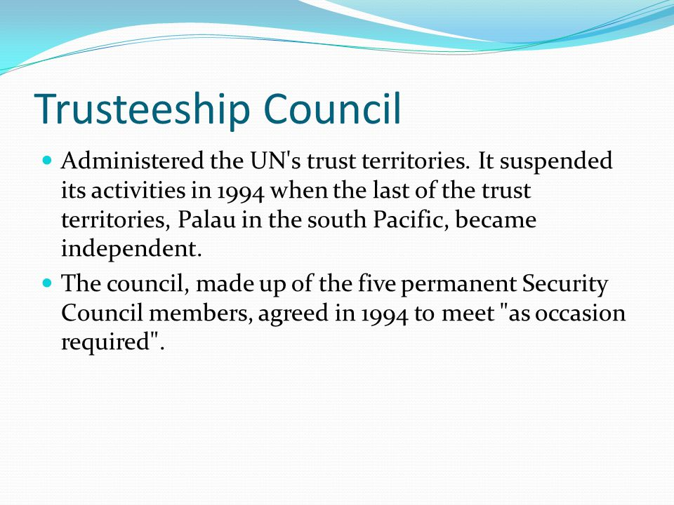 Trusteeship Council