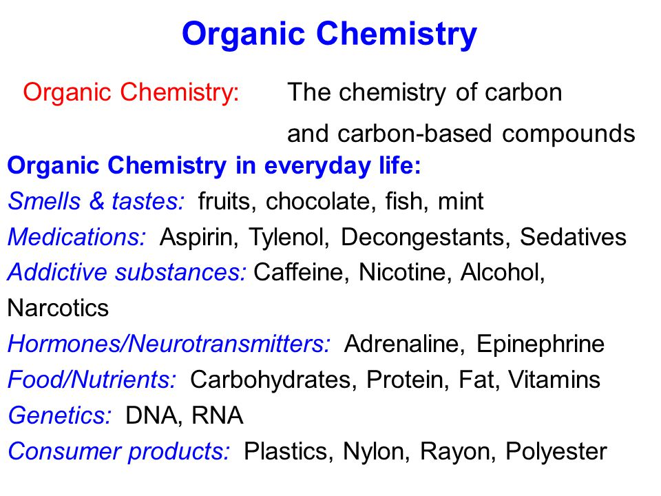 Organic Chemistry The Of Carbon