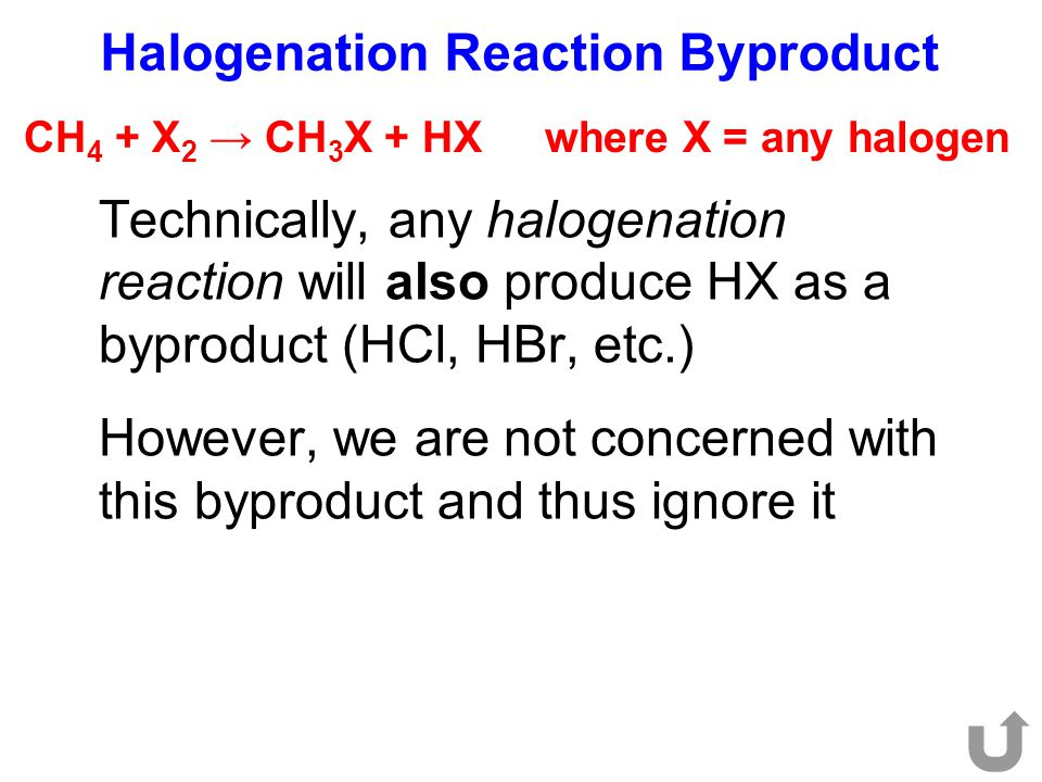 Halogenation Reaction Byproduct