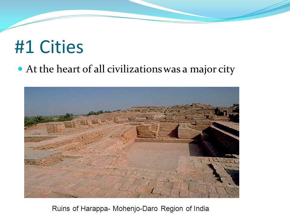 Ruins of Harappa- Mohenjo-Daro Region of India