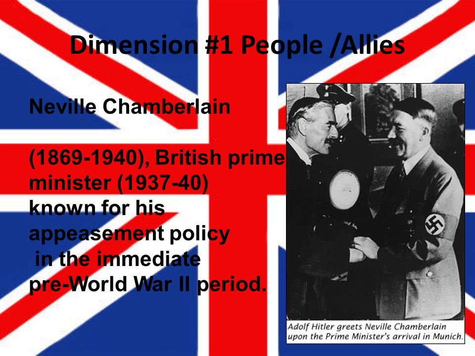 Dimension #1 People /Allies