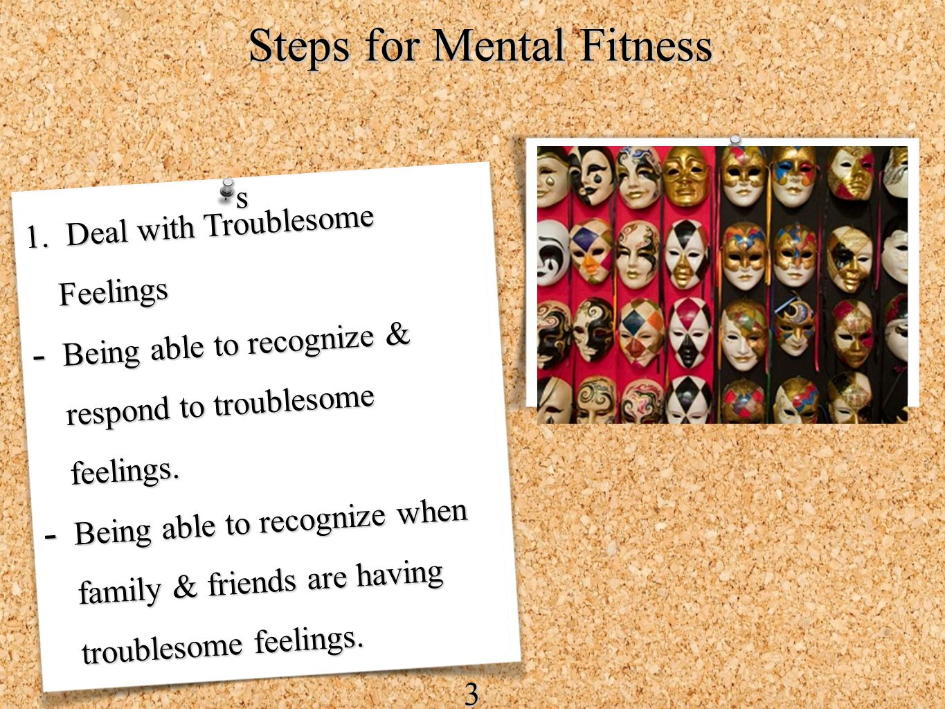 Steps for Mental Fitness