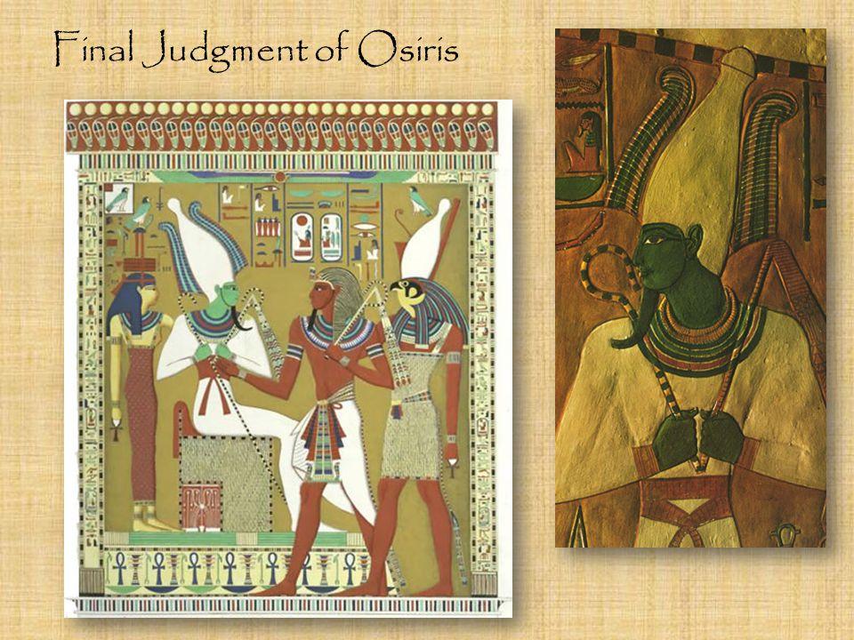 Final Judgment of Osiris