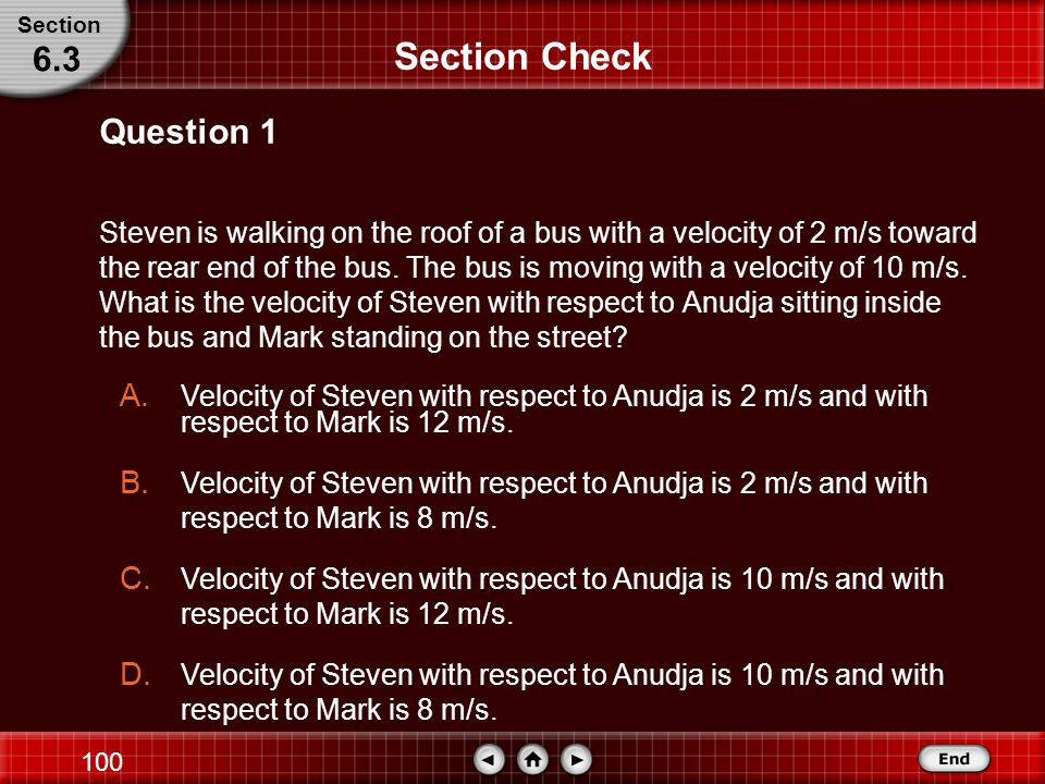 Section Check 6.3 Question 1