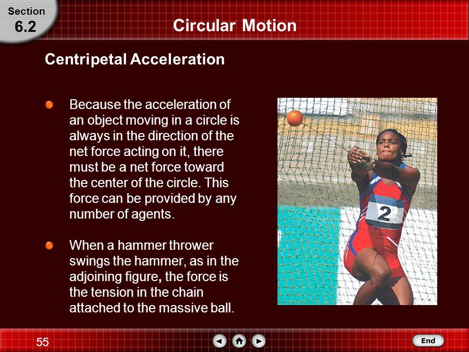 Circular Motion 6.2 Centripetal Acceleration