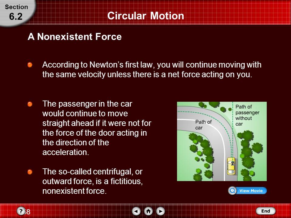 Circular Motion 6.2 A Nonexistent Force