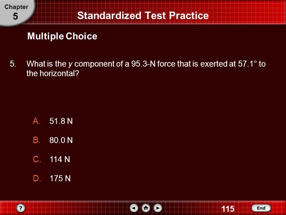 Standardized Test Practice