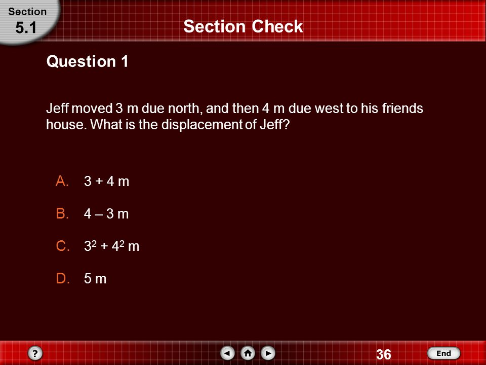Section Check 5.1 Question 1