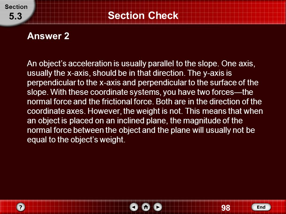 Section Section Check. 5.3. Answer 2.