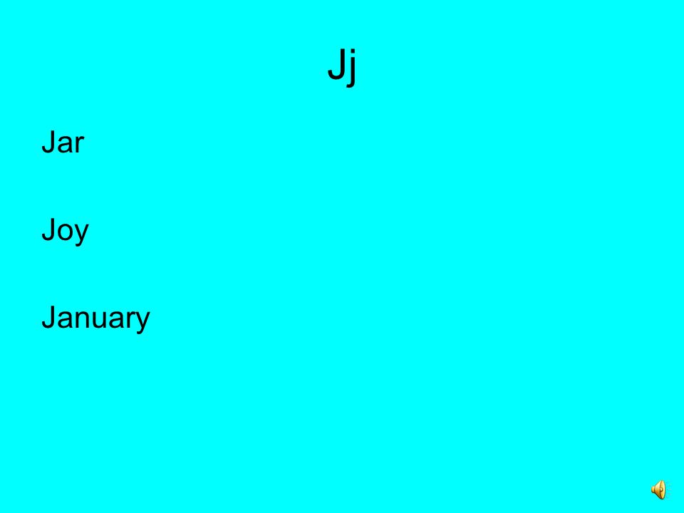 Jj Jar Joy January