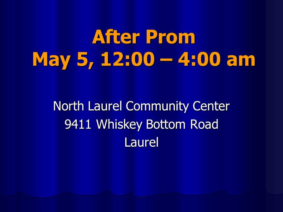 North Laurel Community Center 9411 Whiskey Bottom Road Laurel