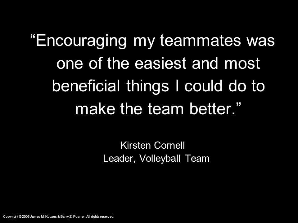 Leader, Volleyball Team