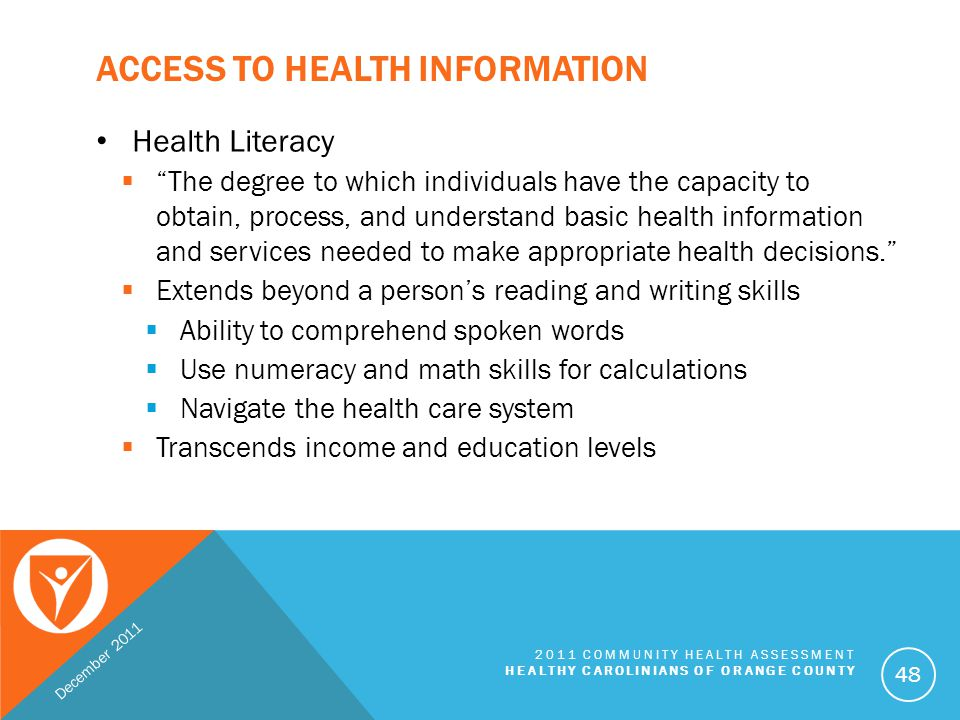 Access to Health Information