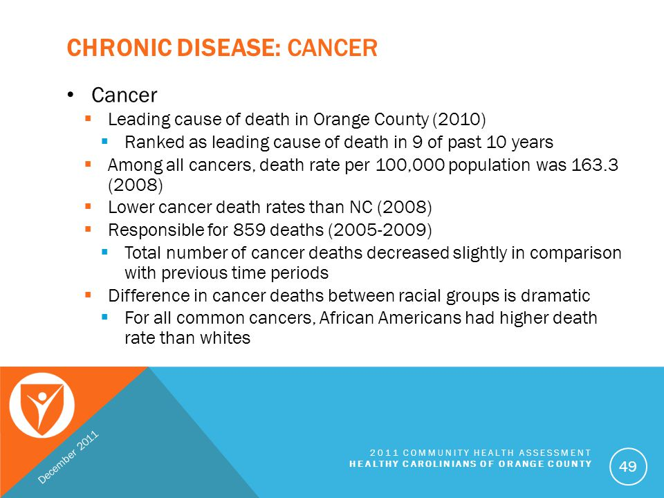 Chronic Disease: Cancer