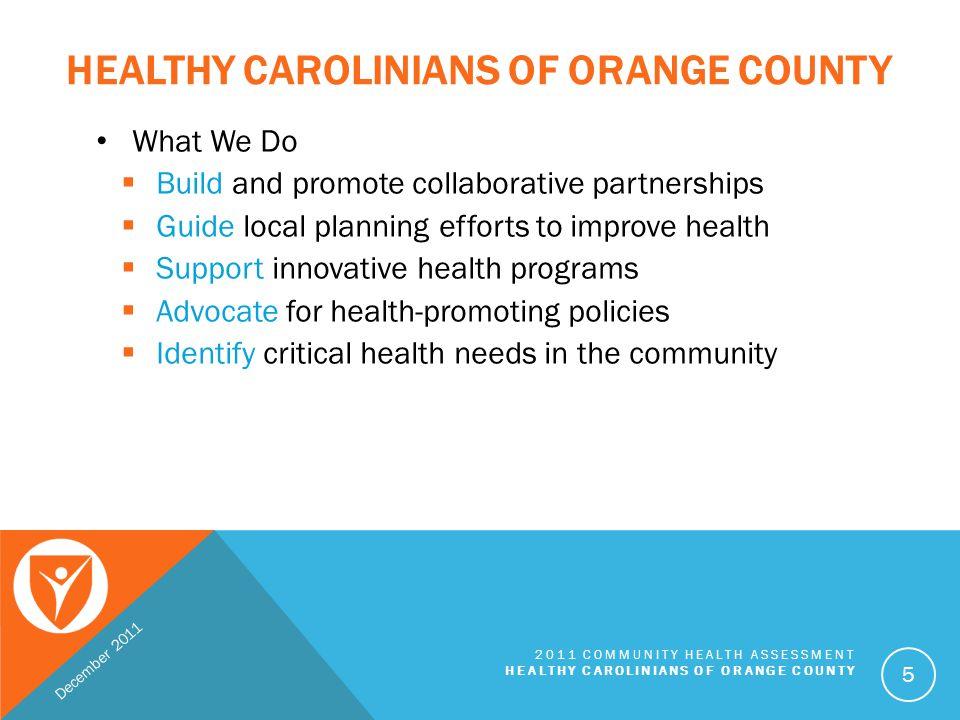 Healthy Carolinians of Orange County