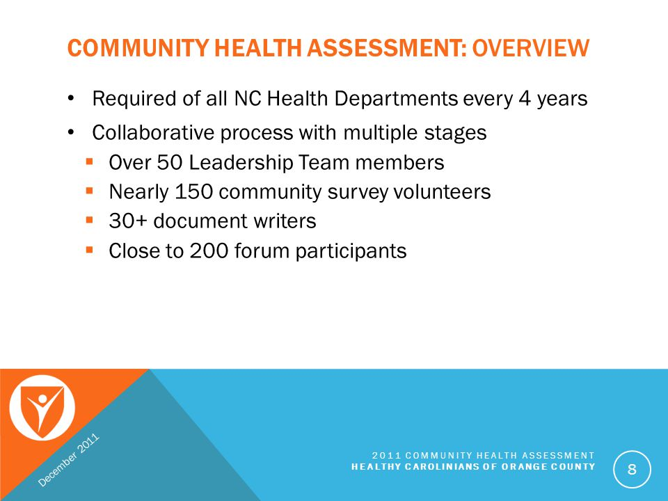 Community Health Assessment: Overview
