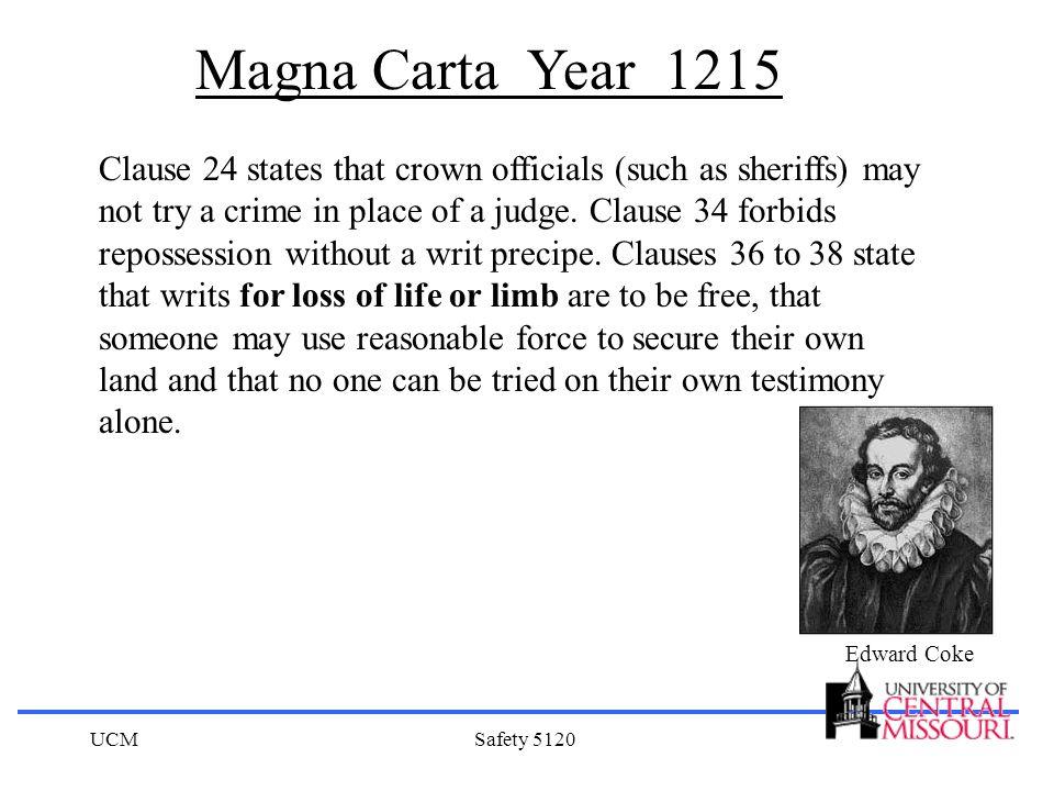Magna Carta Year 1215