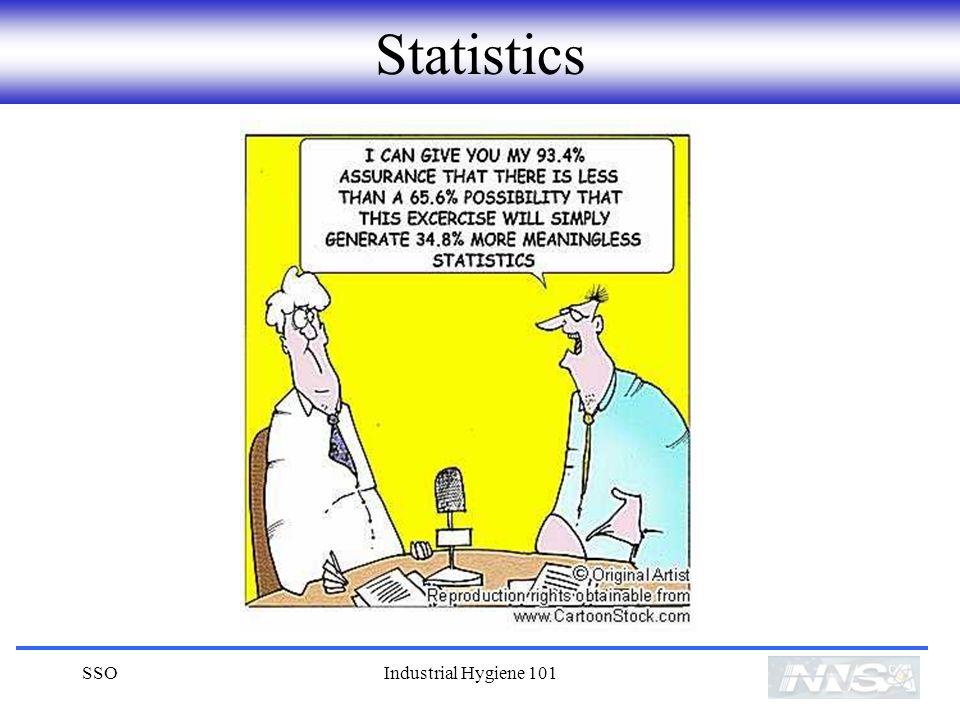 Statistics SSO Industrial Hygiene 101