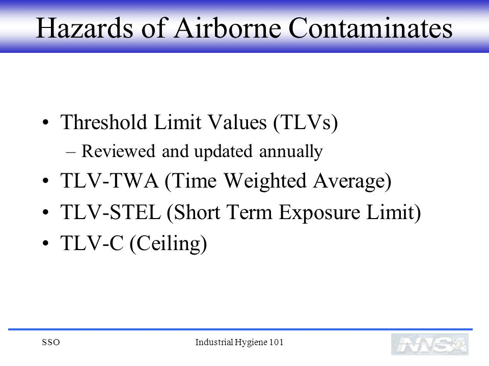 Hazards of Airborne Contaminates