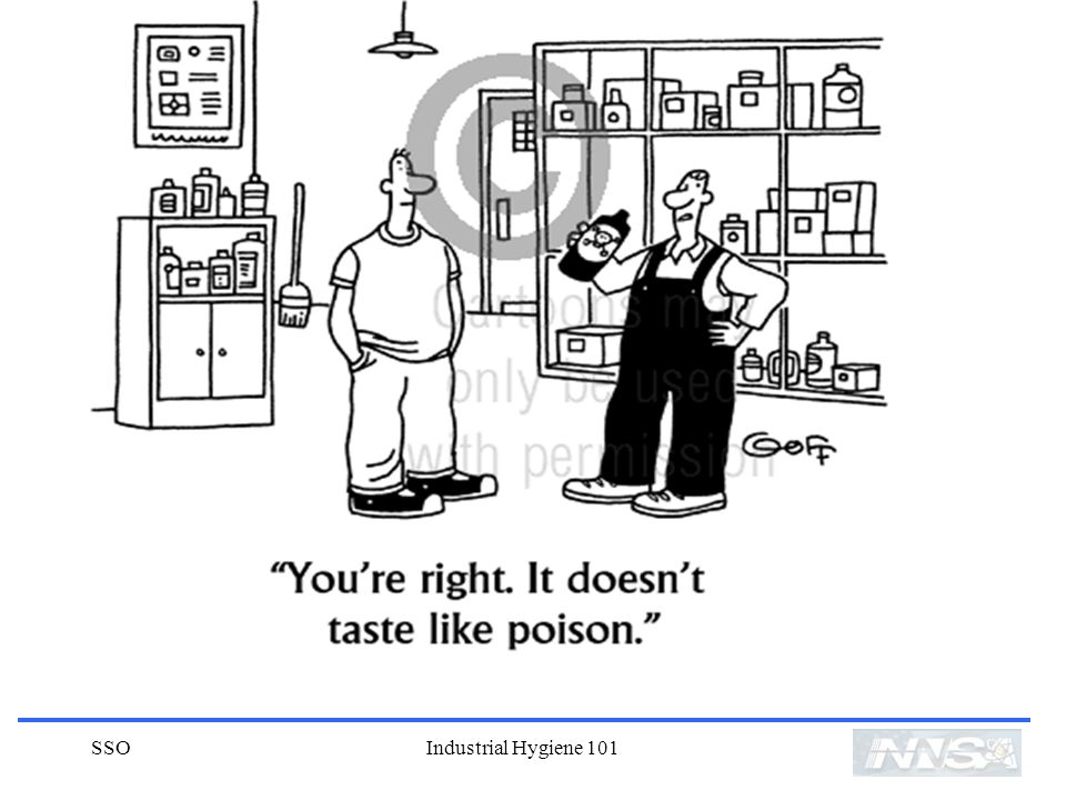 SSO Industrial Hygiene 101