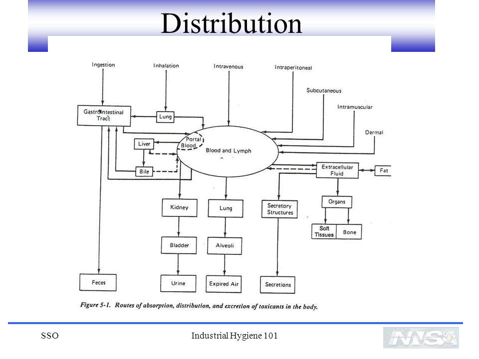 Distribution SSO Industrial Hygiene 101