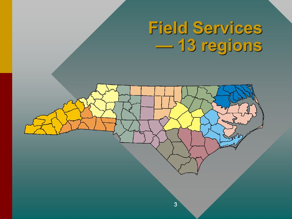 Field Services — 13 regions