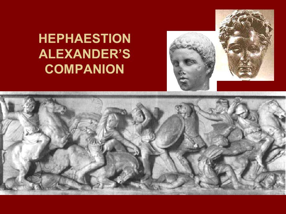 HEPHAESTION ALEXANDER'S COMPANION