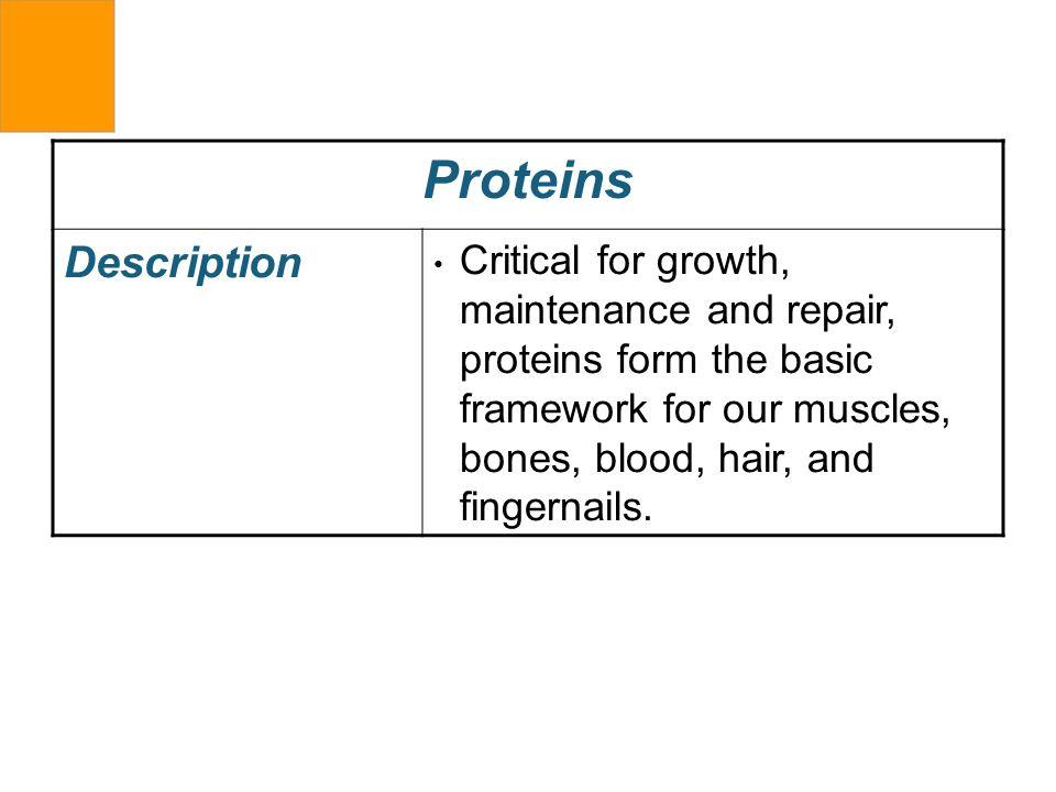 Proteins Description.