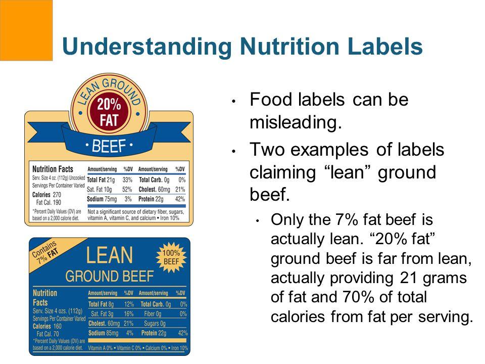 Understanding Nutrition Labels