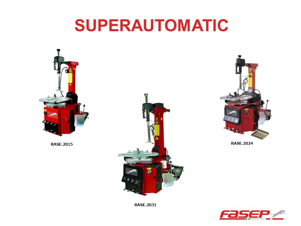 SUPERAUTOMATIC RASE.2015 RASE.2024 RASE.2031