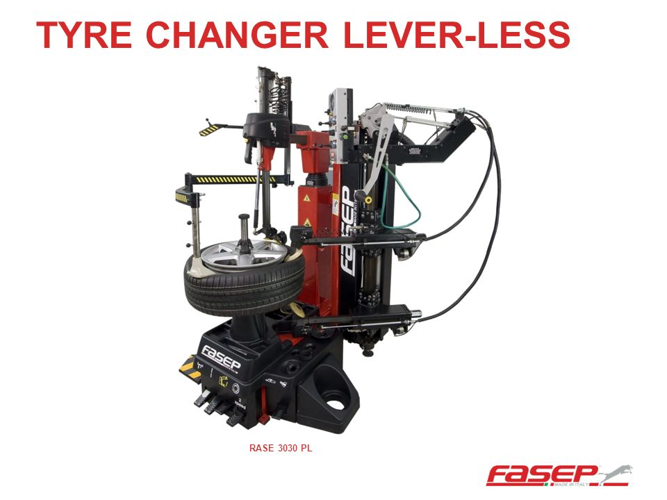 TYRE CHANGER LEVER-LESS