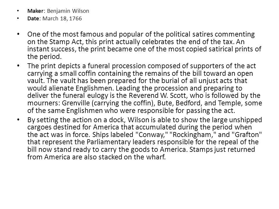 Maker: Benjamin Wilson