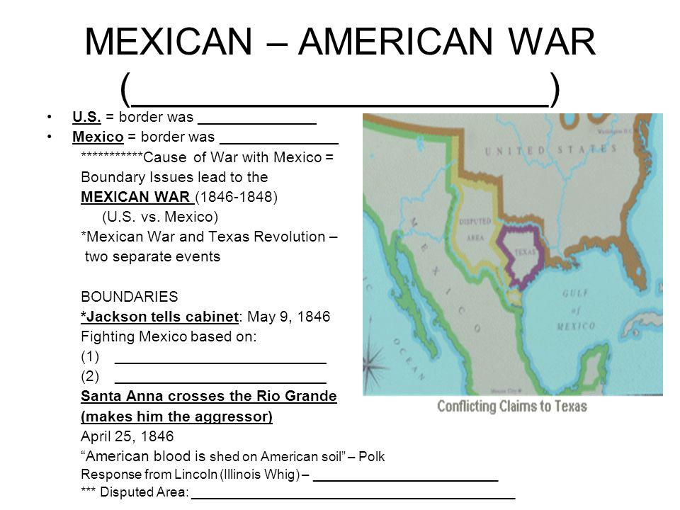 american blood shed on disputed soil What was the resolution offered by congressman abraham lincoln demanding to know the precise location where mexicans had allegedly shed american blood on american soil.