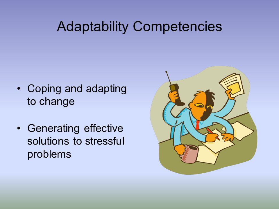 Adaptability Competencies