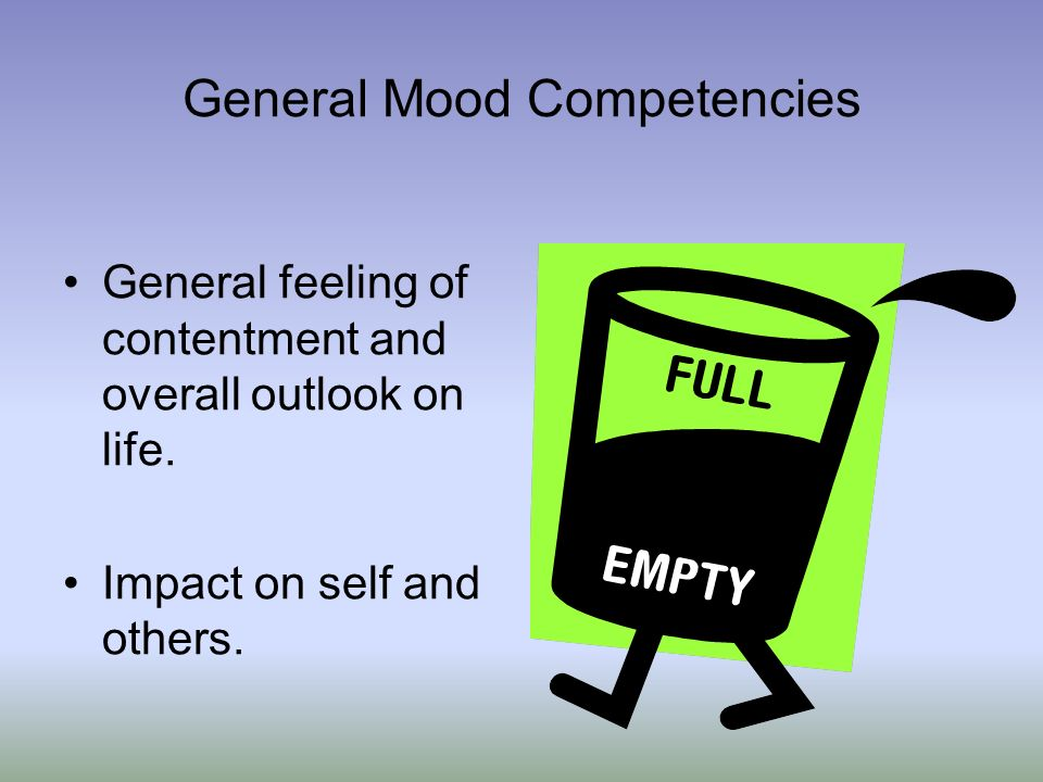 General Mood Competencies