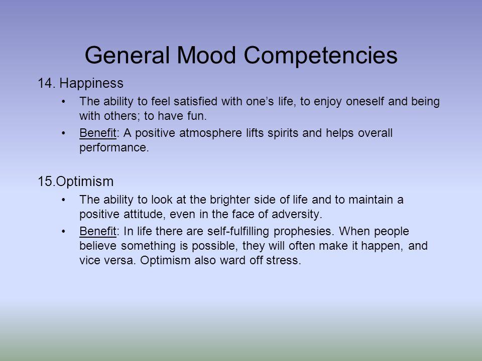 General Mood Competencies