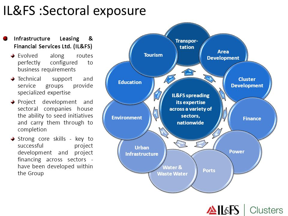 IL&FS spreading its expertise across a variety of sectors,
