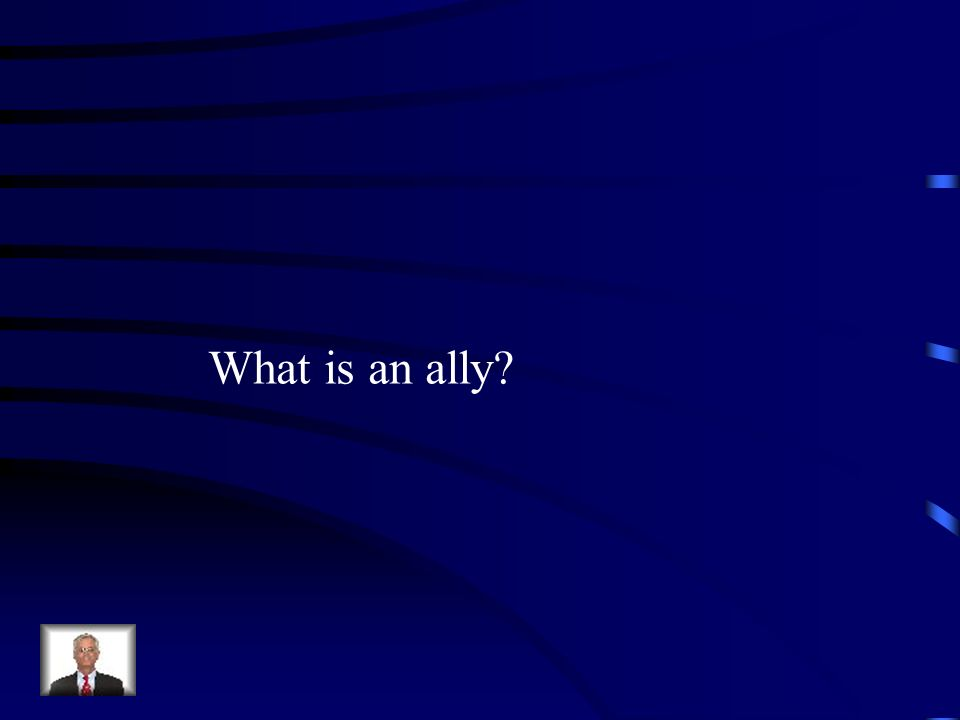 What is an ally