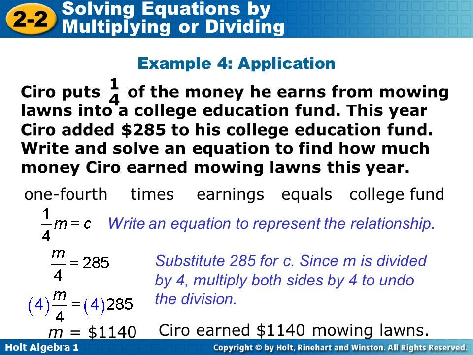 one-fourth times earnings equals college fund