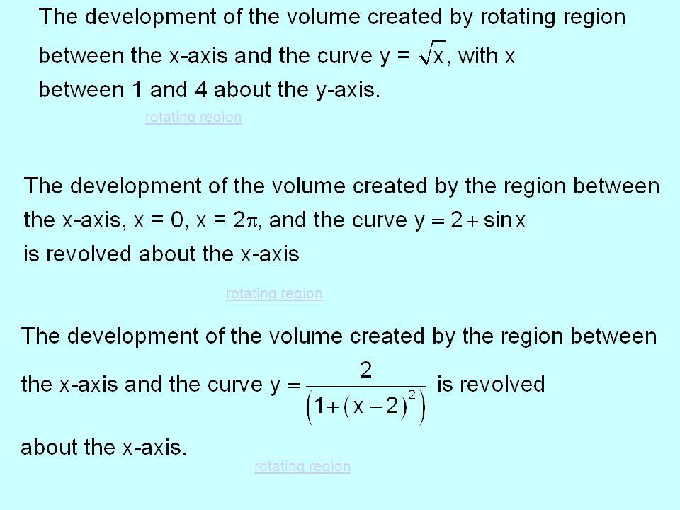 rotating region rotating region rotating region