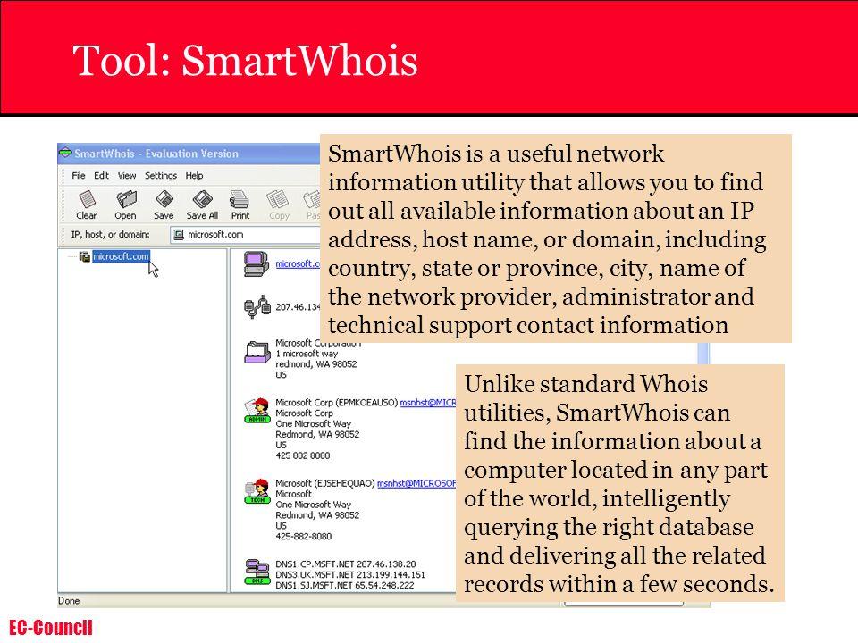 Tool: SmartWhois