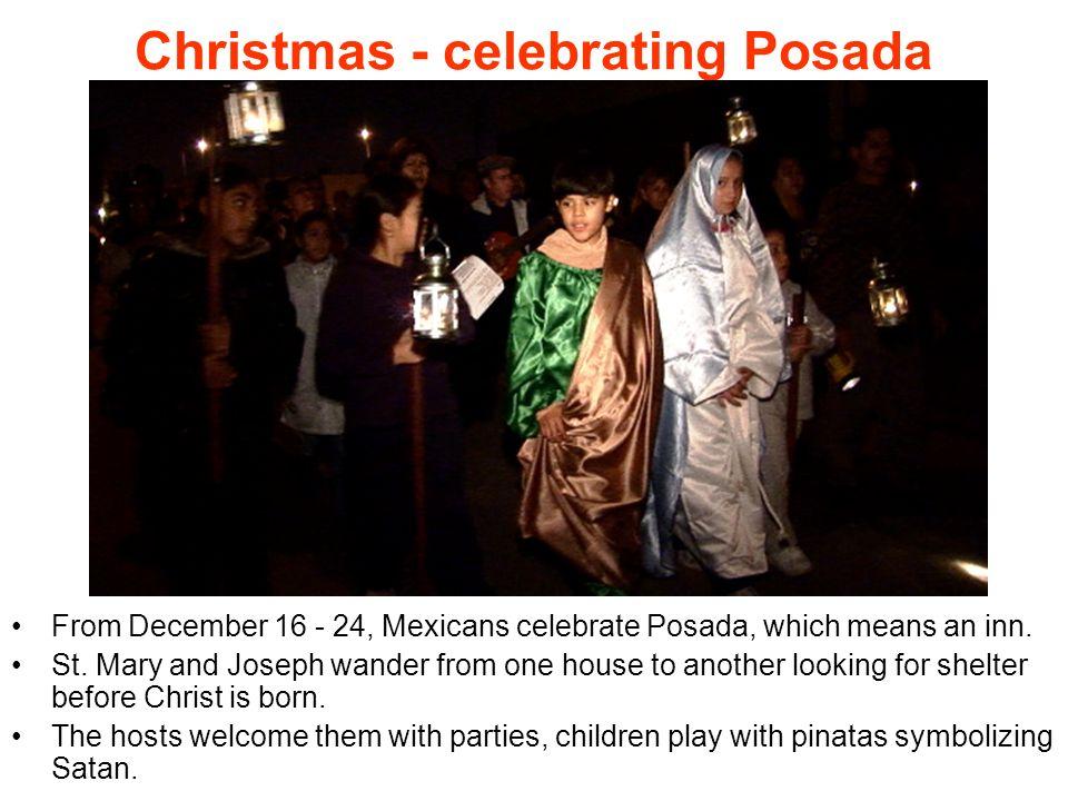 Christmas - celebrating Posada