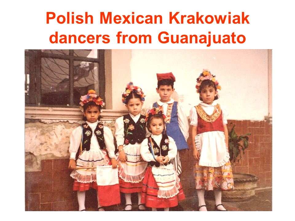 Polish Mexican Krakowiak dancers from Guanajuato