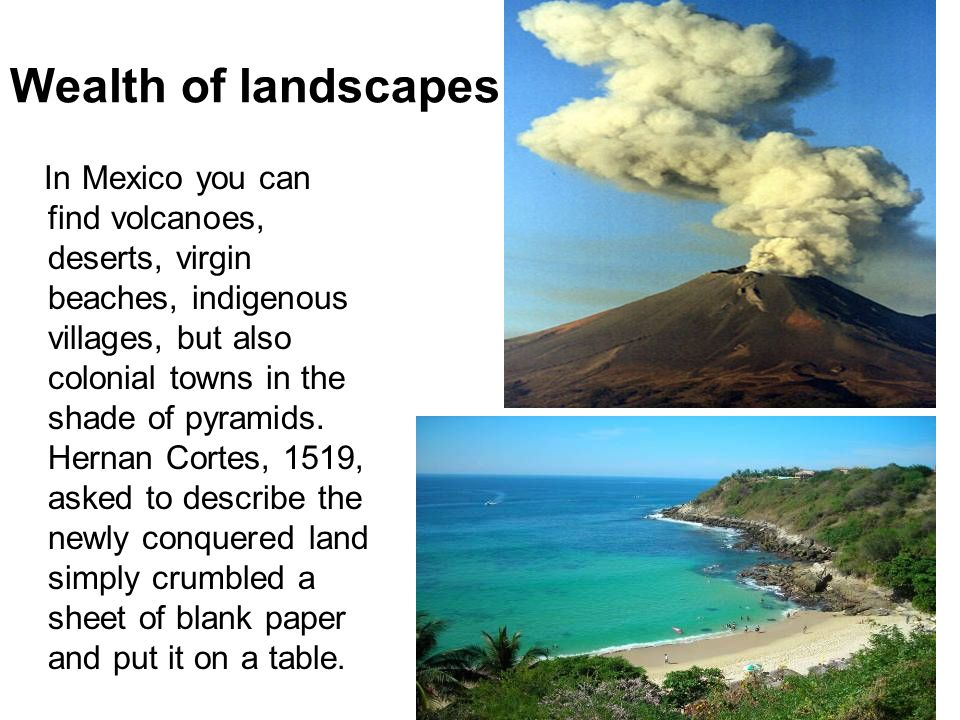 Wealth of landscapes