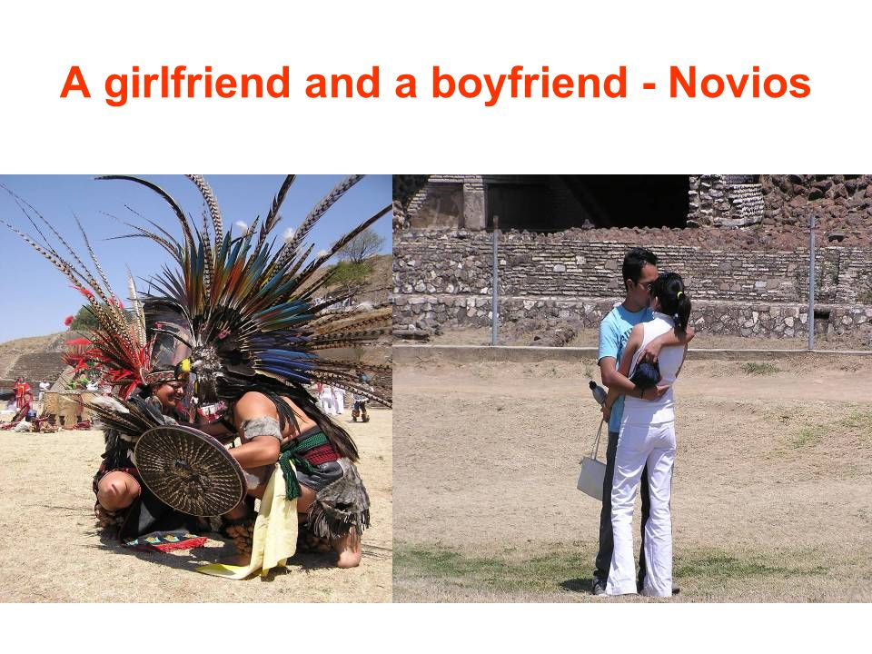 A girlfriend and a boyfriend - Novios